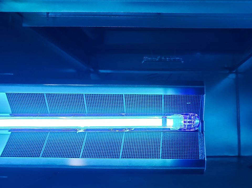 air purification using ultraviolet light