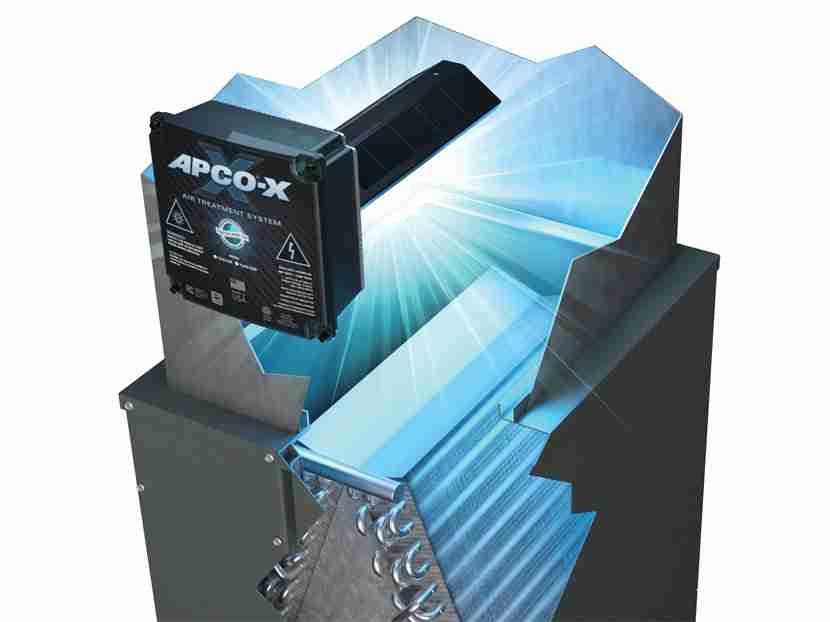 apco-x air purification unit