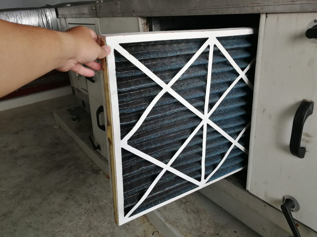 Clean Air Filters Help Keep Your Home Cool During The Summer